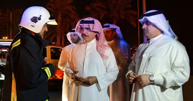 Bahrain says militants hit oil pipeline, opening new front