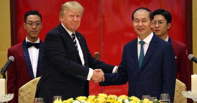 Trump taunts Kim: 'I would NEVER call him short and fat'
