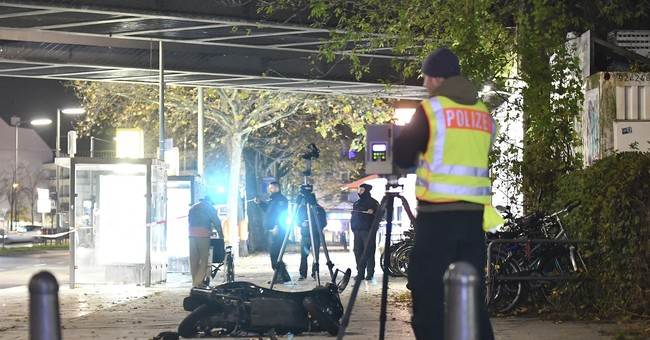 Driver steers car into crowd in Berlin but no one is hurt