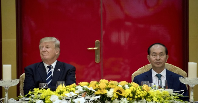 Reporters concerned about press access on Trump's Asia trip