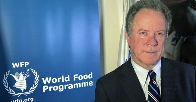 AP Interview: UN food chief says to end hunger, end conflict