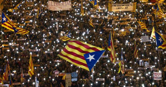 Spanish PM urges Catalans to vote separatists out of office