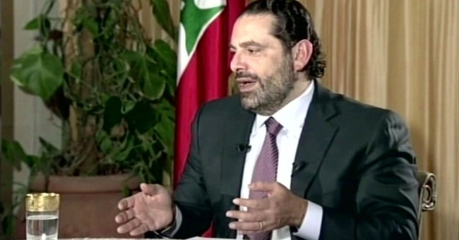 TV interview with Lebanon PM full of odd moments