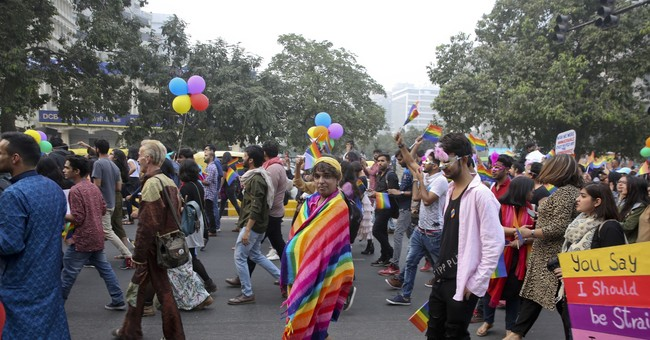 Hundreds join pride march in India, where gay sex is illegal