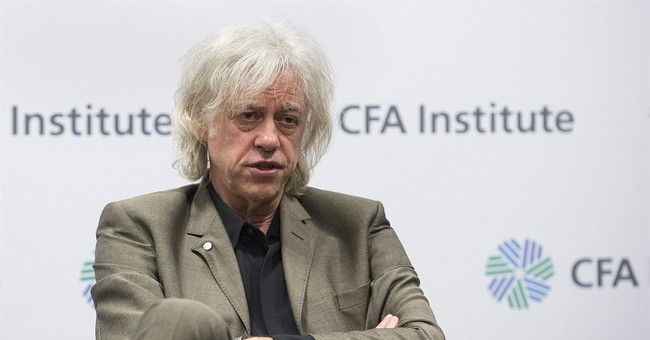 Geldof to turn in Dublin honor to protest plight of Rohingya