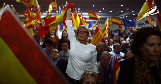 The Latest: Ex-Catalan president to lead party in election