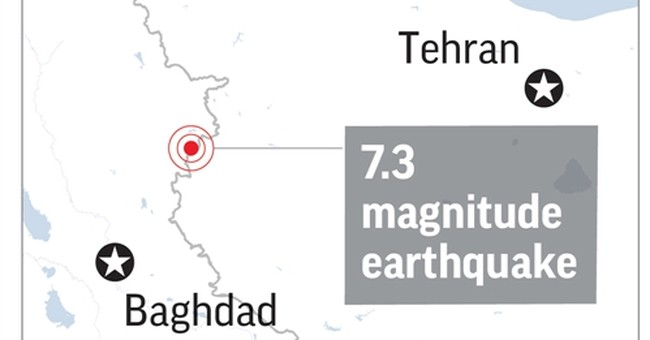 The Latest: News agency: Death toll in Iran quake up to 530