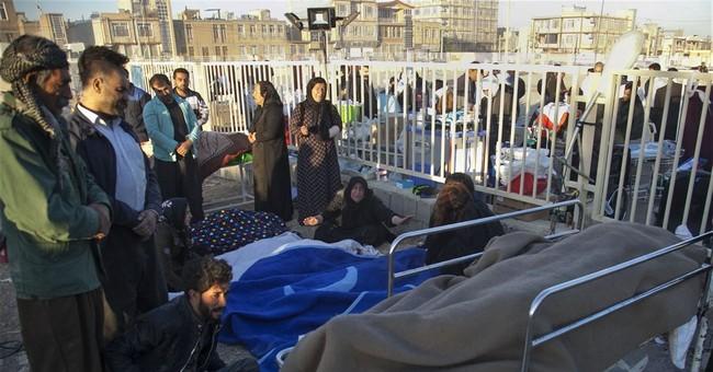 The Latest: Iran-Iraq quake death toll hits 430 in Iran