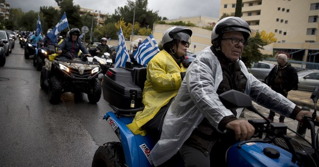 2 wheels good, 4 wheels bad? ATV owners protest in Greece