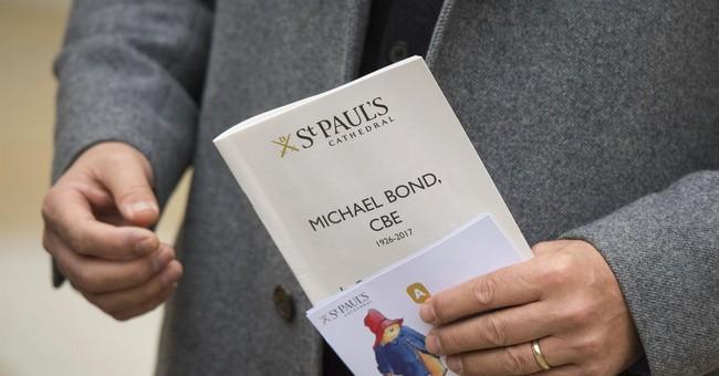 Paddington creator Michael Bond honored at cathedral service