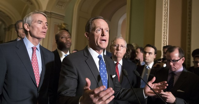 Senate GOP intent on scrapping health mandate in tax bill