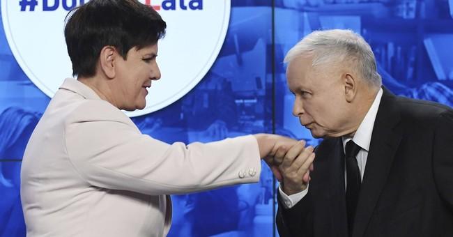 The Latest: Polish premier calls EU actions 'scandalous'