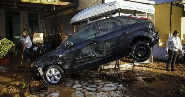 Emergency declared after storm on Greek island of Symi