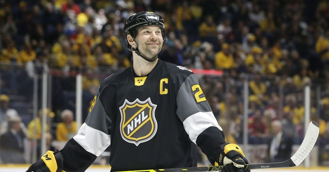 Ex-NHL enforcer John Scott tries acting, ponders next move