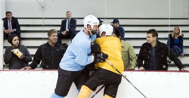 Ex-NHL enforcer John Scott tries acting, ponders next move