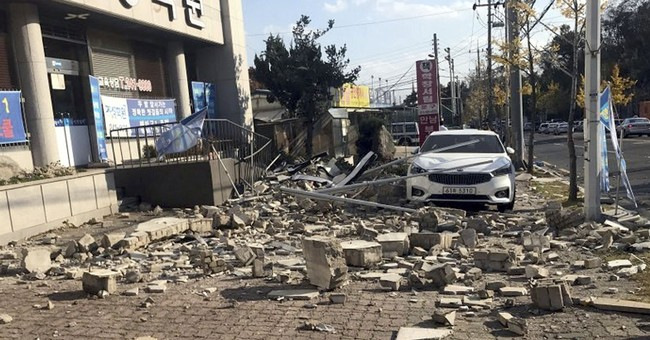 5.4 quake in southeast South Korea causes some minor damage