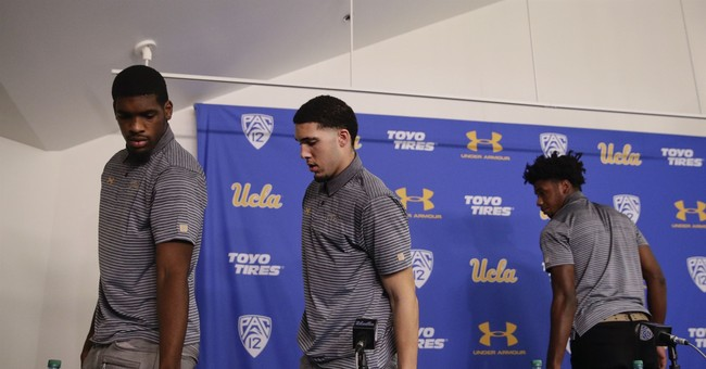 3 UCLA basketball players suspended after theft in China