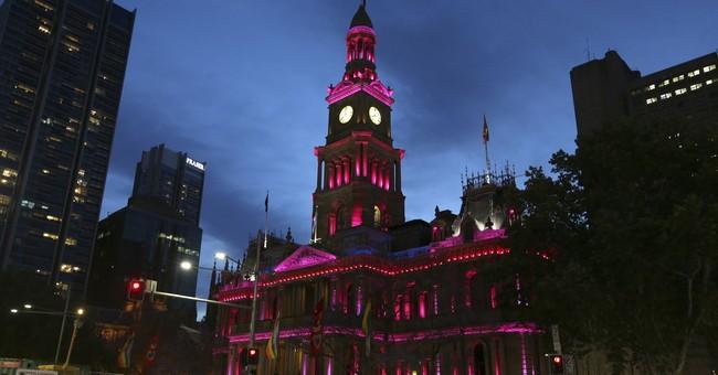 The Latest: Australian Senate debates marriage equality