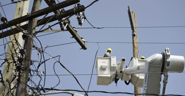 Blackout hits Puerto Rico as power company reached goal