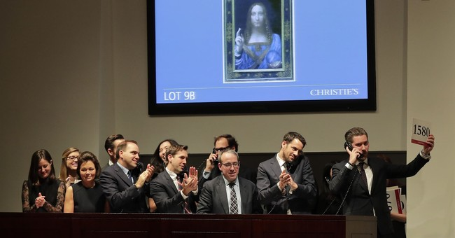 Leonardo Da Vinci artwork sold for record $450.3m