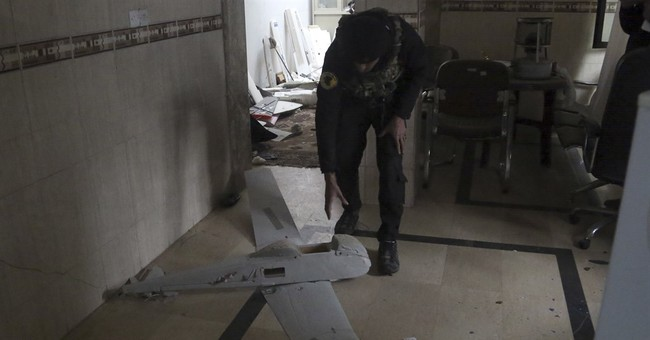 Islamic State turns to drones to direct suicide car bombers