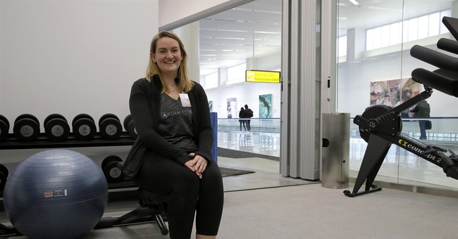 Long layover? How about a workout at an airport gym?
