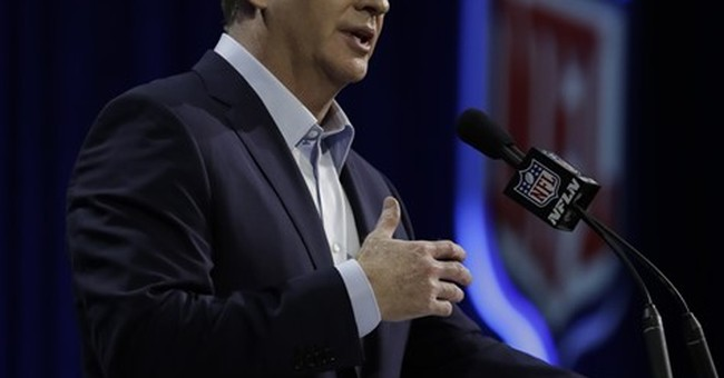 That was awkward: Goodell dodges on Raiders, parries on Pats