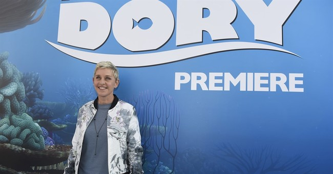 Ellen uses 'Finding Dory' plot to criticize Trump order