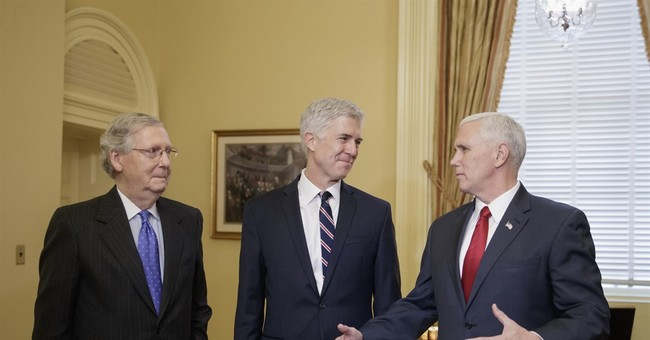 Trump court pick earns GOP praise as he visits Capitol Hill