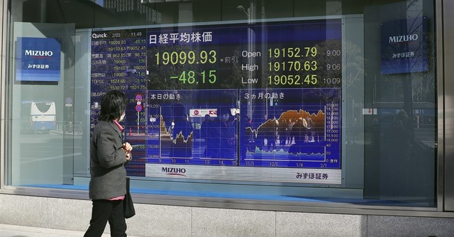 Asian stocks mixed after Wall Street ends little changed
