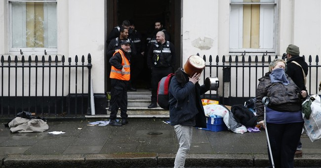 Homelessness activists evicted from pricey mansion in London