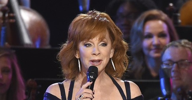 Gospel songs helped Reba McEntire after divorce