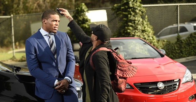 Even Cam Newton can appreciate memes about his fashion style