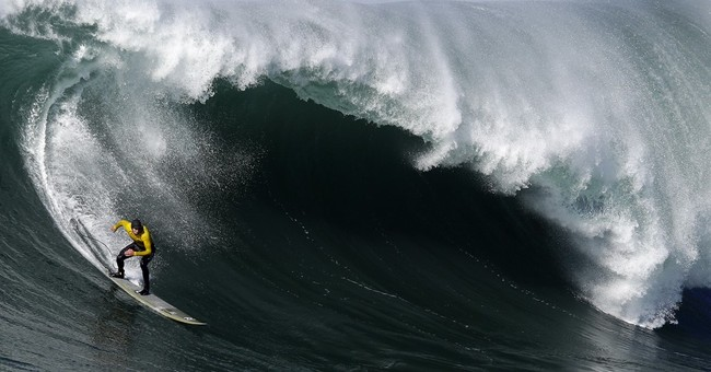 Titans of Mavericks surf contest backers file for bankruptcy