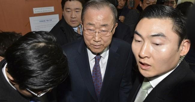 Former UN chief Ban won't run for South Korea presidency