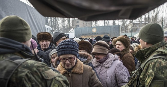 The Latest: Russia says Ukraine is seeking military victory