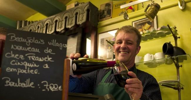 France uncorks this year's batch of Beaujolais Nouveau wine