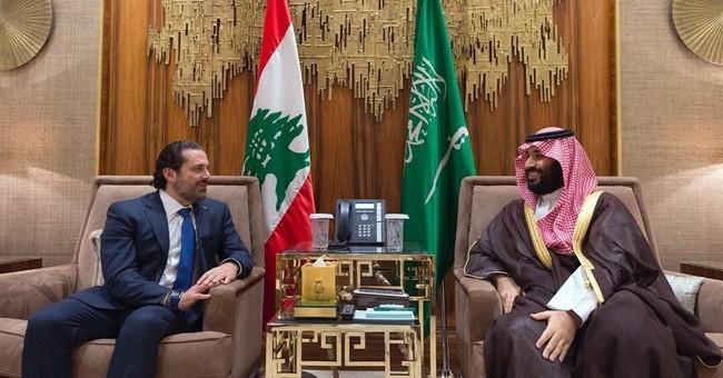 Lebanon's PM Hariri leaves Saudi Arabia for France