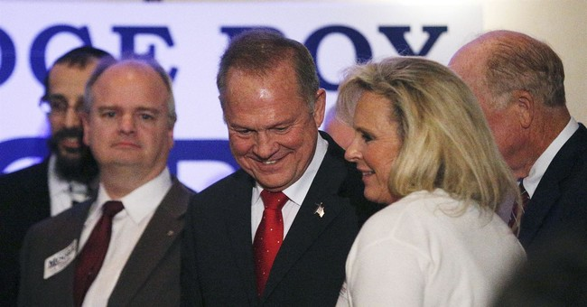 The Latest: Alabama's GOP governor to vote Moore for Senate