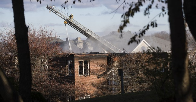 Some residents unaccounted for after huge senior center fire