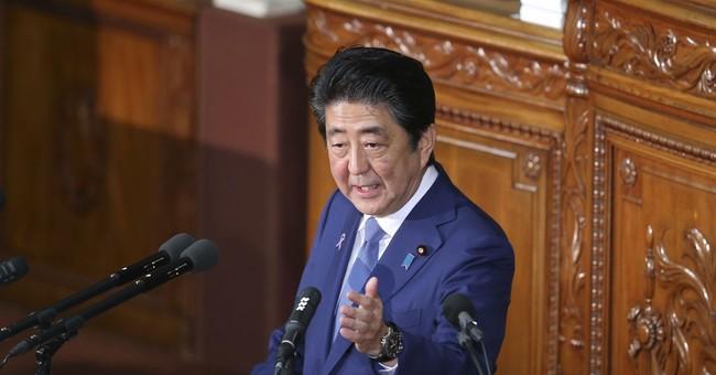 Japan's Abe vows to bolster defense amid North Korea threat