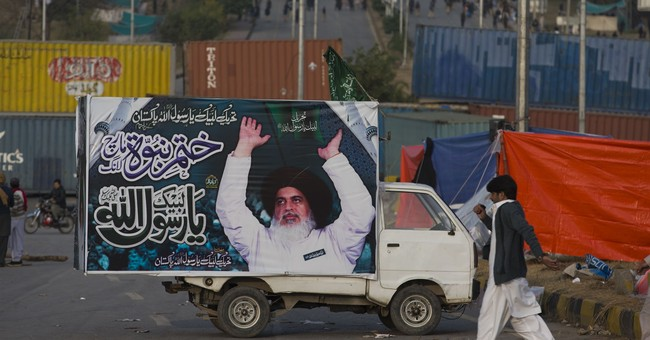 Pakistani police warn Islamist rally to disband within hours