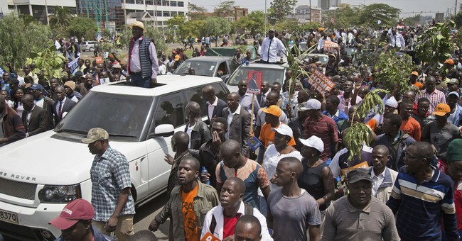 The Latest: 1 killed in Kenya police, opposition clashes