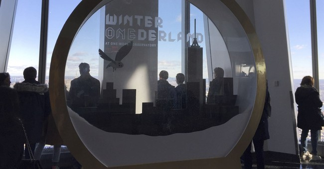 One World Observatory is a Winter 'ONEderland' for holidays