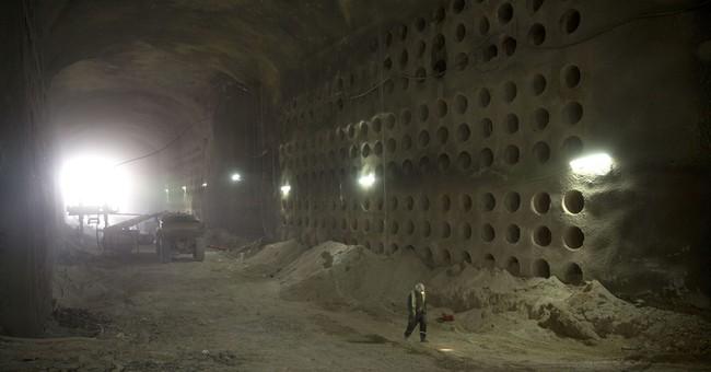Jerusalem cemetery goes deep underground with tunnel burials