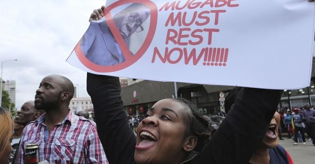 The Latest: Mugabe, army commander to meet again Sunday
