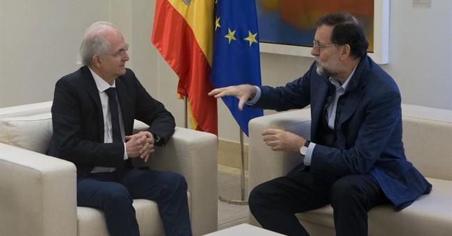 Spain: Ex-Caracas mayor meets leader after fleeing Venezuela