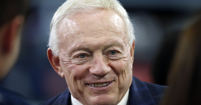 Cowboys' Jerry Jones apologizes for racial remark in video