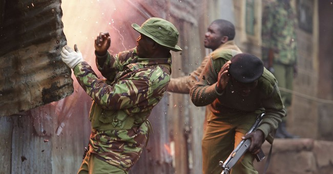 Kenya's Odinga calls for international help in deadly crisis