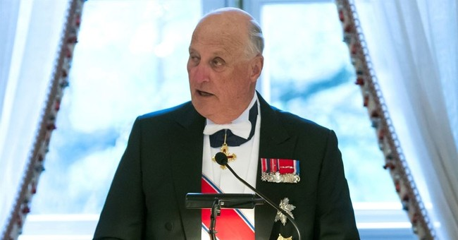 Norway's king hospitalized with infection